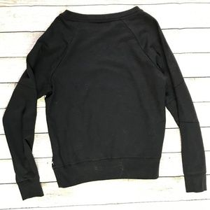 Converse Tops - Converse All Star Black/White Long Sleeve Blouse
